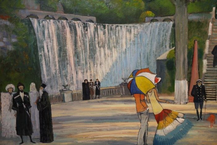 абхазия новый афон пансионат водопад